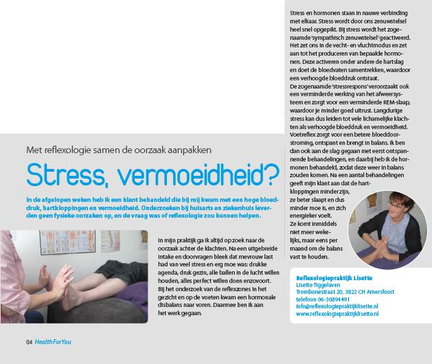 stress vermoeidheid